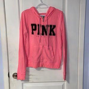 Victoria's Secret Pink Zip Up Hoodie